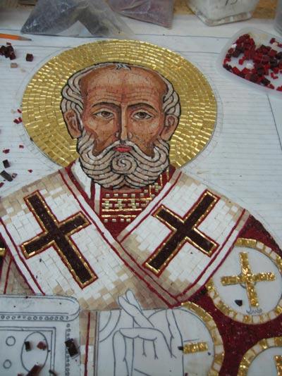 Икона из мозаики своими руками 19